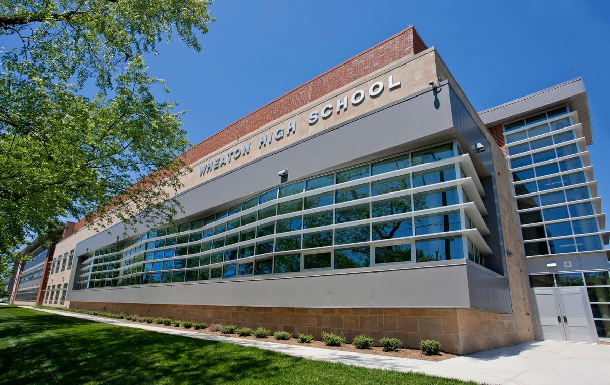 Wheaton High School exterior