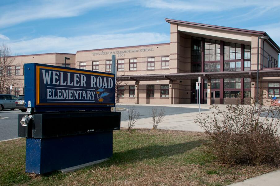 Weller Road Elementary School exterior